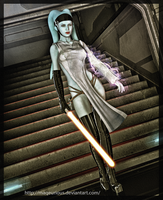 SWTOR: Sith Sorcerer by maqeurious