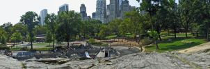 Central Park Panorama by NY-Disney-fan1955