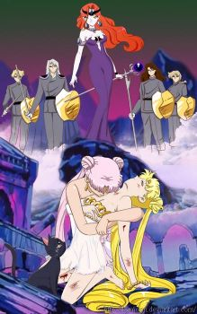 The death of princess Serenity by Kymoon