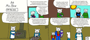Ask Mrs. Bear: First Real Date by LuciferTheShort