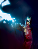 Dr-Frankenstein-Lightning-Rods by ssandulak