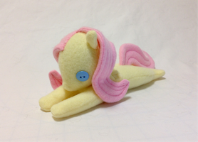MLP Fluttershy Plush by DaftPassion