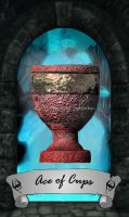 Skyrim Tarot - Ace of Cups by Whisper292