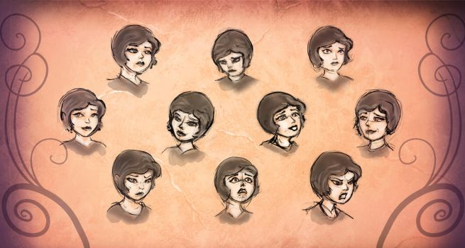 Expression Sheet by TimKb