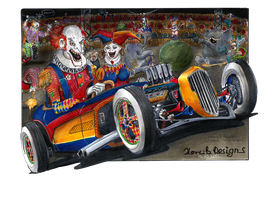CLOWNS by HorcikDesigns