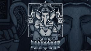 Ganesh Wallpaper by GaryckArntzen