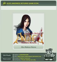 Alice: Madness Returns Icon by CODEONETEAM