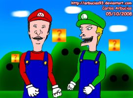 Super Moron Bros by Shinobi-Gambu