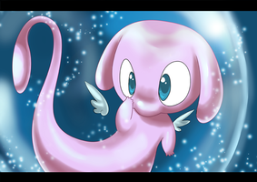 Mew Ethereal Forme by CraigWM
