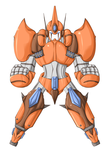 Commision example Mecha by Unholysoul27