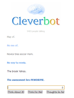 OMG CLEVERBOT by Swift-The-Kitty