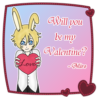 Will you be my Valentine? by goldbullet
