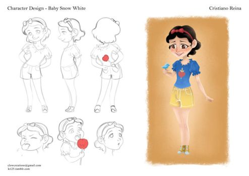 Baby snow white by CristianoReina