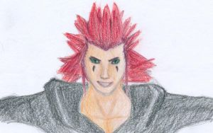Axel found fake tan... by TopHat-And-Tentacles