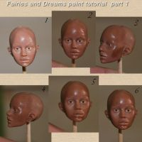 painting face tutorial part 8 by fairiesndreams