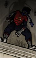 Paint-Sketch Nightcrawler by dio-03