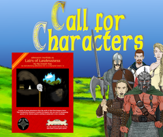 A1 Call for Characters by cailore