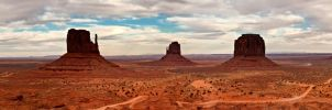 Monument Valley by kopfwiesieb