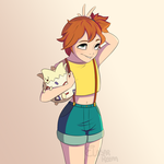 Misty and Togepi by Dreemers