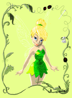 tinkerbell by evildollie