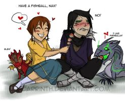 Have a fishball by carrinth