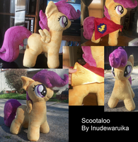 MLP FIM Scootaloo by inudewaruika