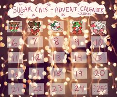 Sugar Cats Advent Calender 2014 - CLOSED by catpaths