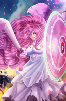 Rose quartz - I don't want to fight by zaameen