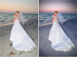 Before and After Bride by Comical1