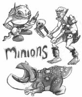 Minions by madDolphin