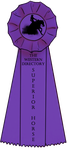 Superior horse ribbon by BlossomHillStables