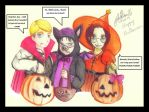 Attack On Trick Or Treat by FerRivaille