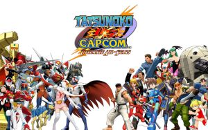 Tatsunoko vs. Capcom Cast by PacDuck