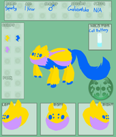 Poke-Paws App: Sparky EVOLUTION! by Trial-Of-The-Dragon