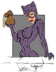 Catwoman 32Bit by DIGITALARTENVY