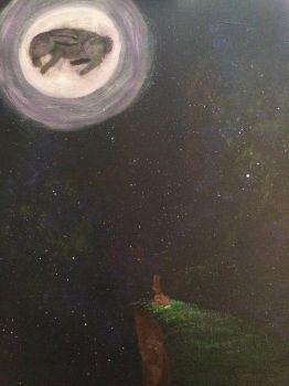 How Rabbits See the Moon by Wolfsongamp