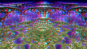 Gardens on Nibiru Anaglyph 3D by Osipenkov