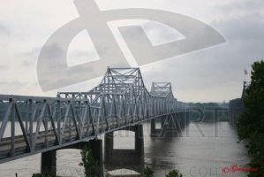 Gray Day on the Mississippi by UrbanShots