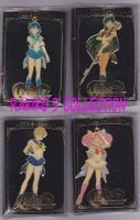 Sailor moon metal keychains by RakikoHime