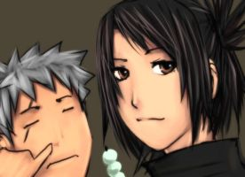 Tenchu - nose and smiles by buuzen