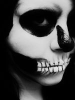 Skull Makeup. IV by BabsxStock