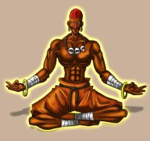 Dhalsim - Final by hocuspukeus