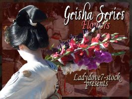Geisha Flowers PACK by themuseslibrary