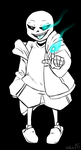 Sans In Black And White by velka