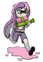 Future Sweetie Splattoon by Scramjet747