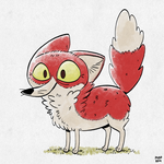 Red Fox by sketchinthoughts