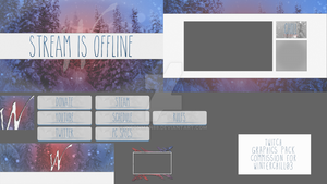 Winterchill03 Twitch Graphics Pack by WConman88