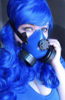 Cybergoth Makeup  by sewleigh