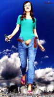 Giantess 108 by GNBB