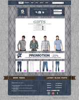 Interface Web JEANS by drouch